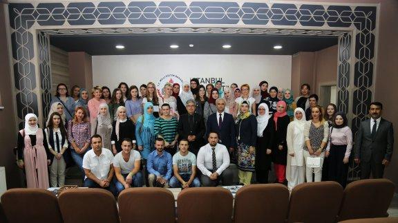Bosna-Hersek Türkçe Öğretmenleri ve Türkoloji Öğrencilerinden İstanbul Mill� Eğitim Müdürü