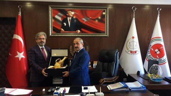 İstanbul Mill� Eğitim Müdürü Yelkenci den Bakırköy Adli Yargı İlk