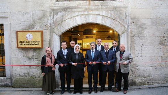 Cumhuriyet Eğitim Tarihi Müzesi Açılış Töreni