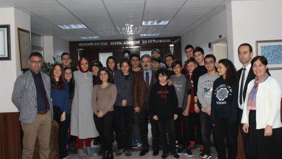 İstanbul Millî Eğitim Müdürü Yelkenci'den Hüseyin Avni Sözen Anadolu Lisesi'ne Ziyaret