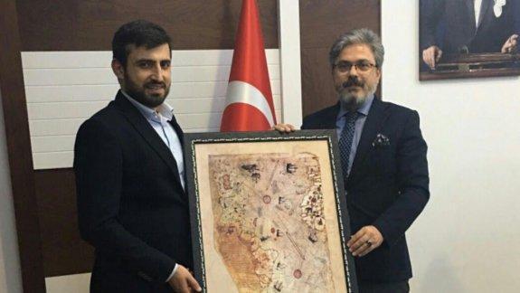 Türkiye Teknoloji Takımı Vakfı'ndan, İstanbul Millî Eğitim Müdürü Yelkenci' ye Ziyaret