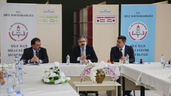 Müdürümüz Yelkenci, Şile ve Kadıköy İlçelerindeki Okul Müdürleriyle Bir Araya Geldi