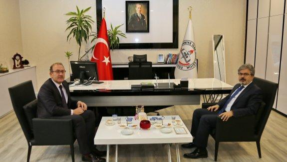 İstanbul Millî Eğitim Müdürü Yelkenci´den Ümraniye İlçe Millî Eğitim Müdürlüğüne Ziyaret