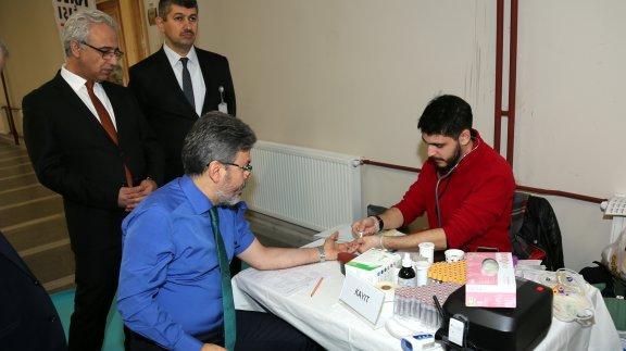 İstanbul Millî Eğitim Müdürlüğünden Kan Bağışı Kampanyasına Destek