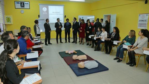 İstanbul Millî Eğitim Müdürlüğü İlkyardım Eğitim Kurslarının Açılışı Yapıldı